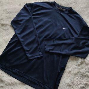 Navy Nike Longsleeve